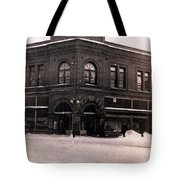 A Snow Day Tote Bag