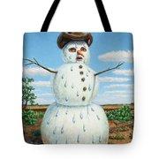 A Snowman In Texas Tote Bag