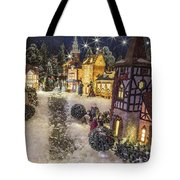 A Snowy Evening Tote Bag