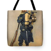 A Soldier IInfanterie Tote Bag