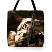 A Soldiers Friends Tote Bag