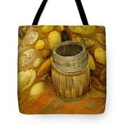 A Sole Barrel Tote Bag by Jeff Swan