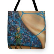 A Spelunkers Search For Life Tote Bag