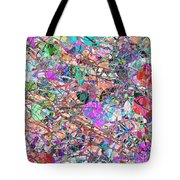 A Splash Of Abstract Tote Bag