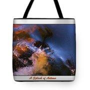 A Splash Of Autumn Tote Bag