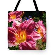 A Splash Of Lilies Tote Bag