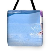 A Splishin' And A Splashin'  Tote Bag