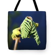 A Spring Beginning  Tote Bag