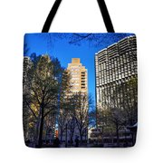 A Spring Day At Rittenhouse Square Tote Bag