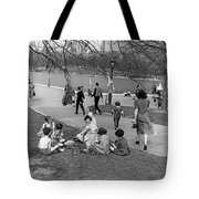 A Spring Day In Central Park Tote Bag