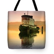 A Spring Evening At The Lake Tote Bag
