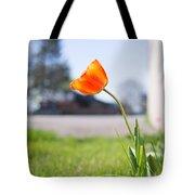 A Spring Tulip Tote Bag