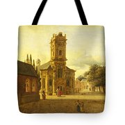 A Square Before A Church Tote Bag