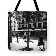 A Square In Toledo - Spain Tote Bag