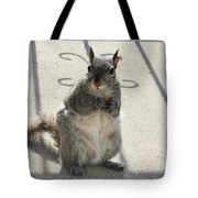 A Squirrel Known As Chippy Tote Bag