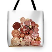 A Stack Of Sausages Tote Bag