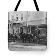 A Stagecoach In Tombstone Tote Bag