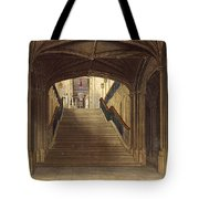 A Staircase, Windsor Castle, From Royal Tote Bag