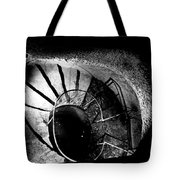 A Stairwell In The Catacombs Of Paris France Tote Bag