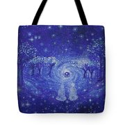 A Star Night Tote Bag by Ashleigh Dyan Bayer