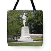 A Statue Of Colonel Thayer Tote Bag