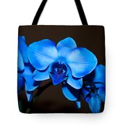 A Stem Of Beautiful Blue Orchids Tote Bag