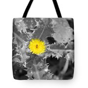 A Sticky Flower Tote Bag