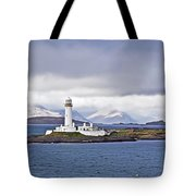 A Storm And The Lighthouse Tote Bag