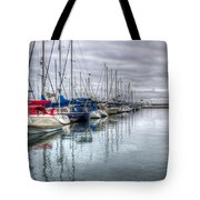 A Storm Was Brewing Tote Bag