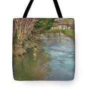 A Stream In Spring Tote Bag