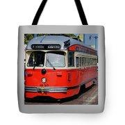 A Street Car Named Castro Tote Bag