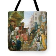 A Street In Cairo Tote Bag