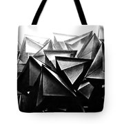 A Structure Rises Tote Bag