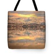 A Subtle Winter Tote Bag