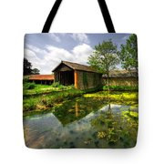 a Suffolk Barn Tote Bag