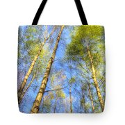 A Summer Forest Tote Bag