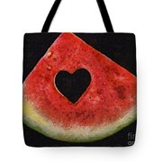 A Summer Valentine's Day Tote Bag