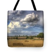 A Summers Evening Farm Tote Bag