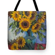 A Sunflower Day Tote Bag