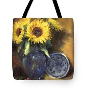 A Sunflower Smile Tote Bag