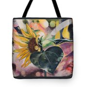A Sunflower's Heart Tote Bag
