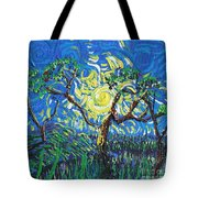 A Sunny Day For The Tree Tote Bag
