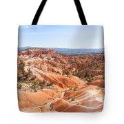 A Sweeping Vista At Bryce Canyon  Tote Bag