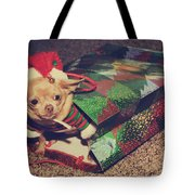 A Sweet Christmas Surprise Tote Bag by Laurie Search
