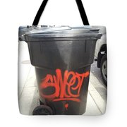 A Sweet Garbage Can. Tote Bag