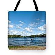 A Swim In The Lake Tote Bag