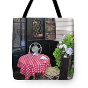 A Table For Two Tote Bag