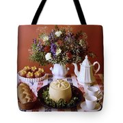 A Table Of Pastries Tote Bag