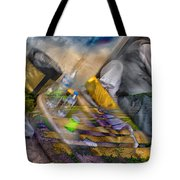 A Tale Of Two Worlds Tote Bag