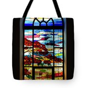 Another Tale Of Windows And Magical Landscapes Tote Bag
